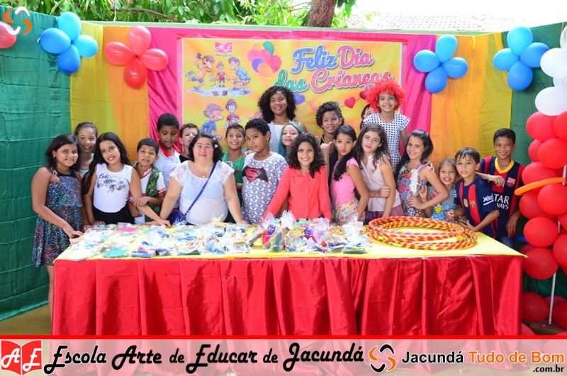 Escola Arte de Educar de Jacundá - Comemoração dia das crianças - 2016
