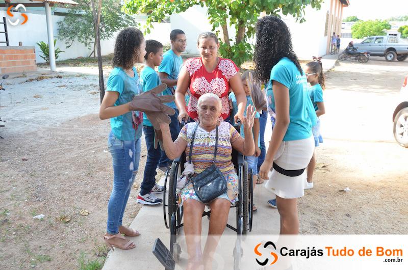 Pastoral da pessoa idosa realiza encontro em Jacundá