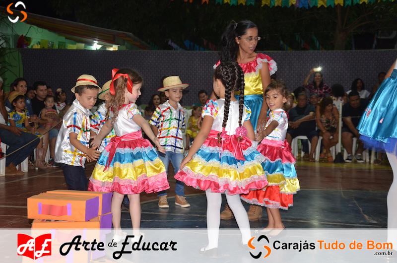 XIV Arraiarte da Escola Arte de Educar de Jacundá - 1ª Noite