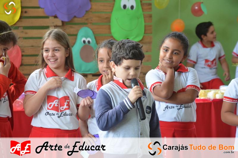 Projeto Saúde e Nutrição - Escola Arte de Educar 2019