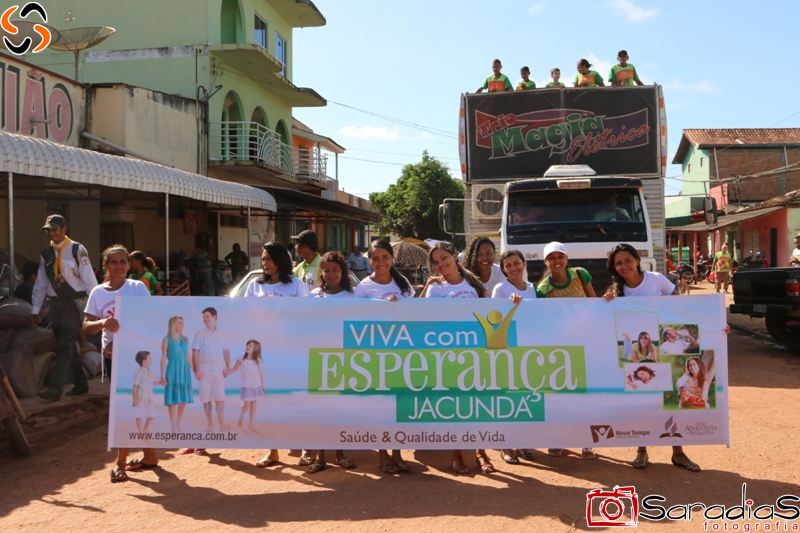 Igreja Adventista - Mobilização Impacto Esperança em Jacundá