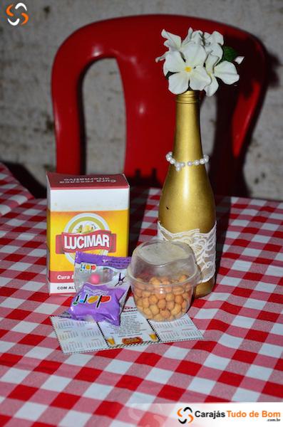 Boteco da Lucimar é inaugurado - Niver 72 anos Lucimar