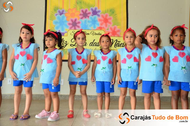 Homenagem as Mães - Escola Jardim das Acácias de Jacundá 2017