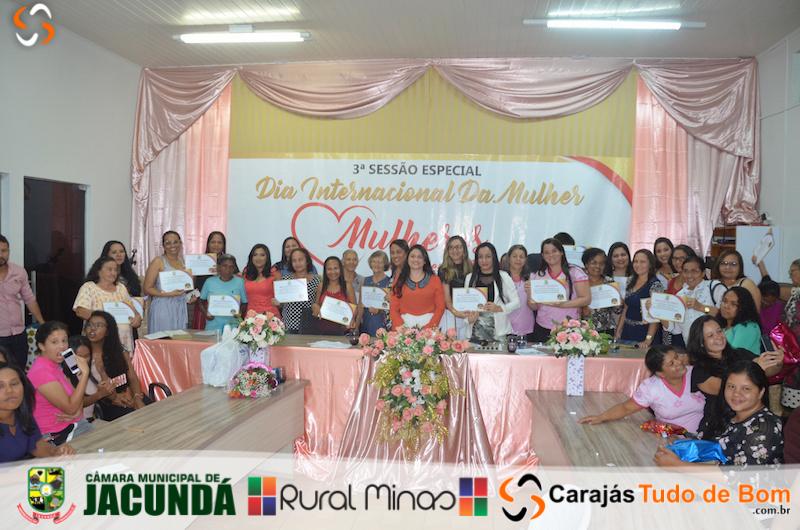 3ª Sessão especial dia Internacional da Mulher