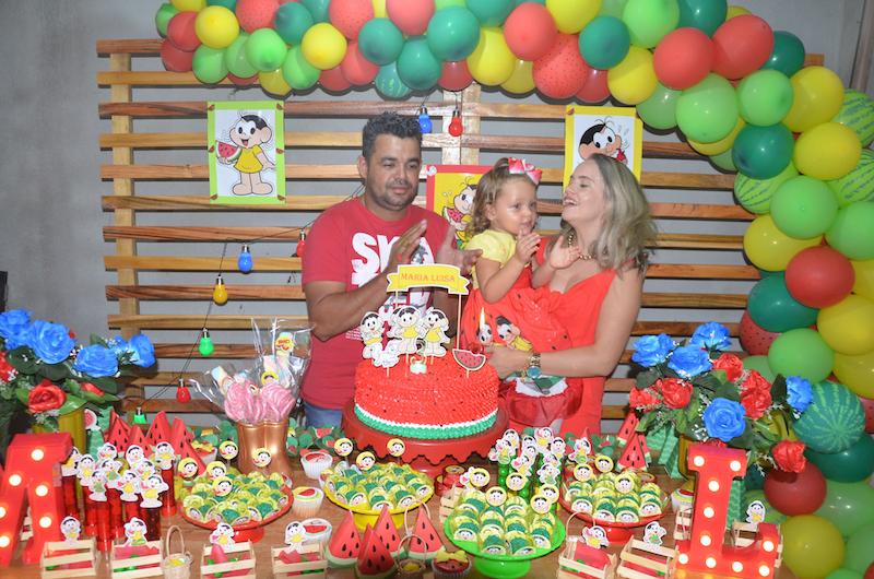 Niver - 3 Anos Maria Luiza