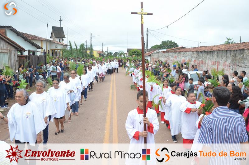 Igreja Católica - Procissão de Domingo de Ramos 2019