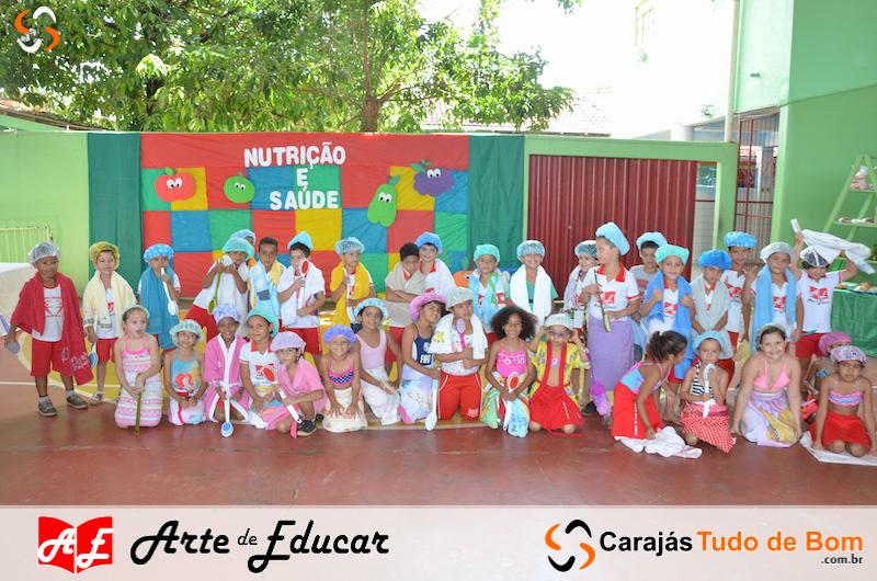 Projeto Saúde e Nutrição - Escola Arte de Educar 2018