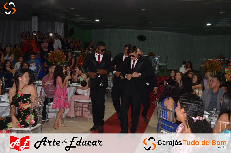 Formandos 2017 - Escola Arte de Educar de Jacundá