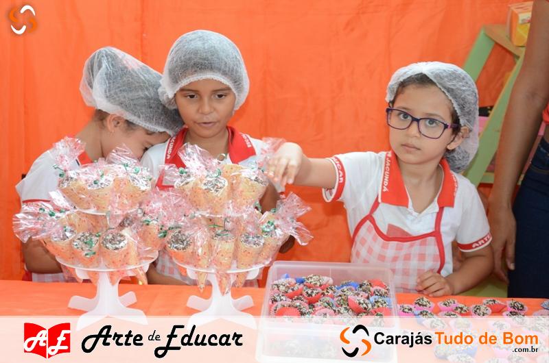 II Feira do Pequeno Empreendedor - Escola Arte de Educar de Jacundá