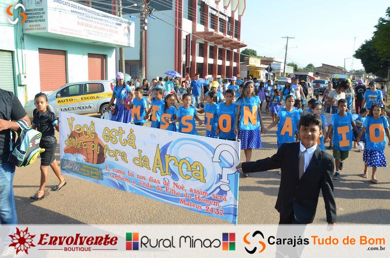 Passeata 4º Congresso Infantil - Assembleia de Deus Missão