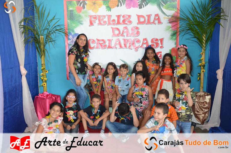 Escola Arte de Educar de Jacundá - Comemoração dia das crianças - 2018