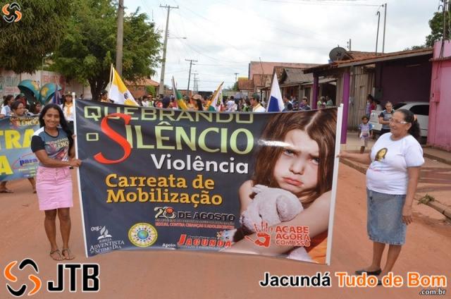 Igreja Adventista - Carreata de Mobilização contra à Violência