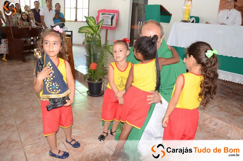 Pe. Claudio: Missa em ação de graças pelos 10 anos em Jacundá - Comunidade Sta. Rita e São Sebastião