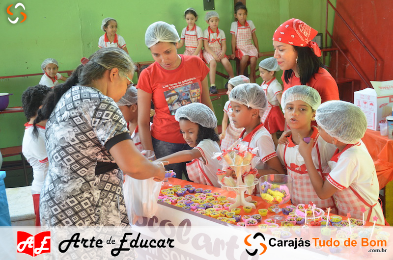 IV Feira do Pequeno Empreendedor - Escola Arte de Educar de Jacundá