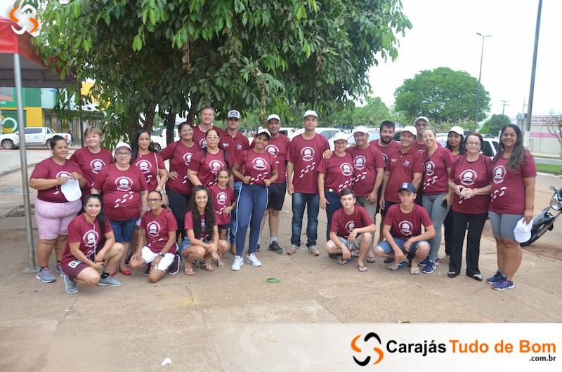 1ª Caminhada passos que salvam em Jacundá