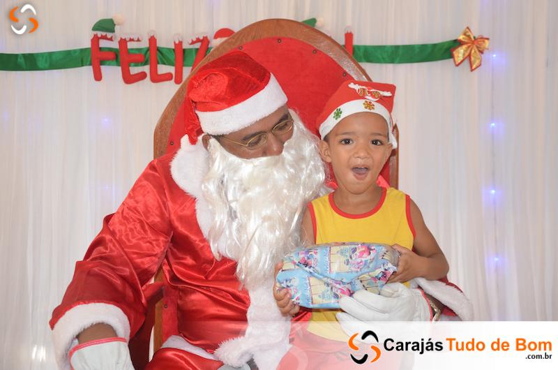 Papai Noel chega à Creche Nossa Sra. Aparecida - 2019