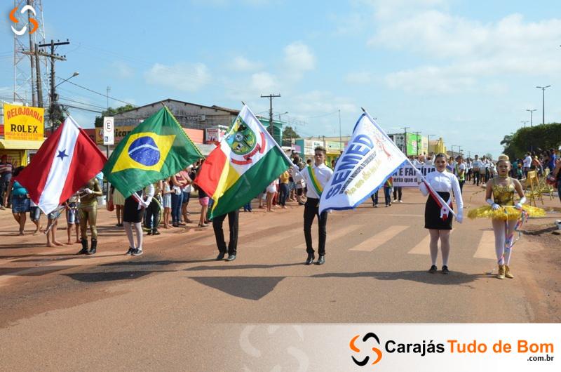 Desfile Cívico Escolar é realizado em Jacundá - 2017