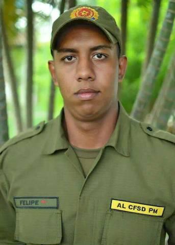 Soldado PM morreu no acidente. (Foto: Divulgação/Arquivo Família)