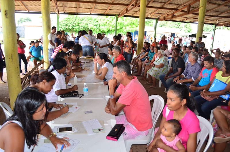 O projeto Ação Cidadania permaneceu por três dias em Jacundá. (Foto: JTB/Gilmar Mota)