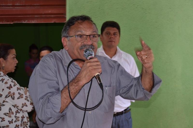 O Prefeito Zé Martins também participou da reunião. (Foto: Wyll Silva/Carajás Tudo de Bom)