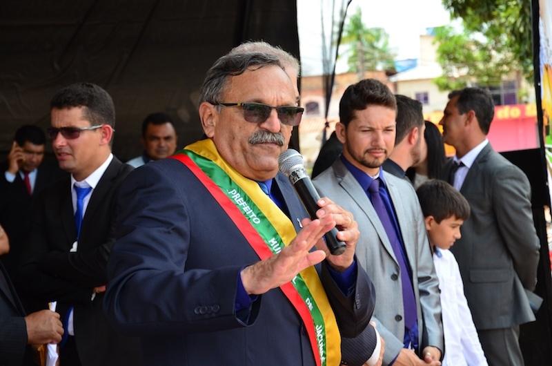 Zé Martins garante austeridade financeira da Prefeitura de Jacundá. (Foto: Carajás Tudo de Bom/Gilmar Mota)