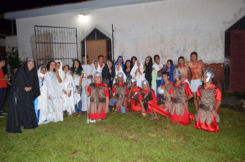 Via Sacra 2017 em Curionópolis. (Foto: Carajás Tudo de Bom/Wyll Silva)