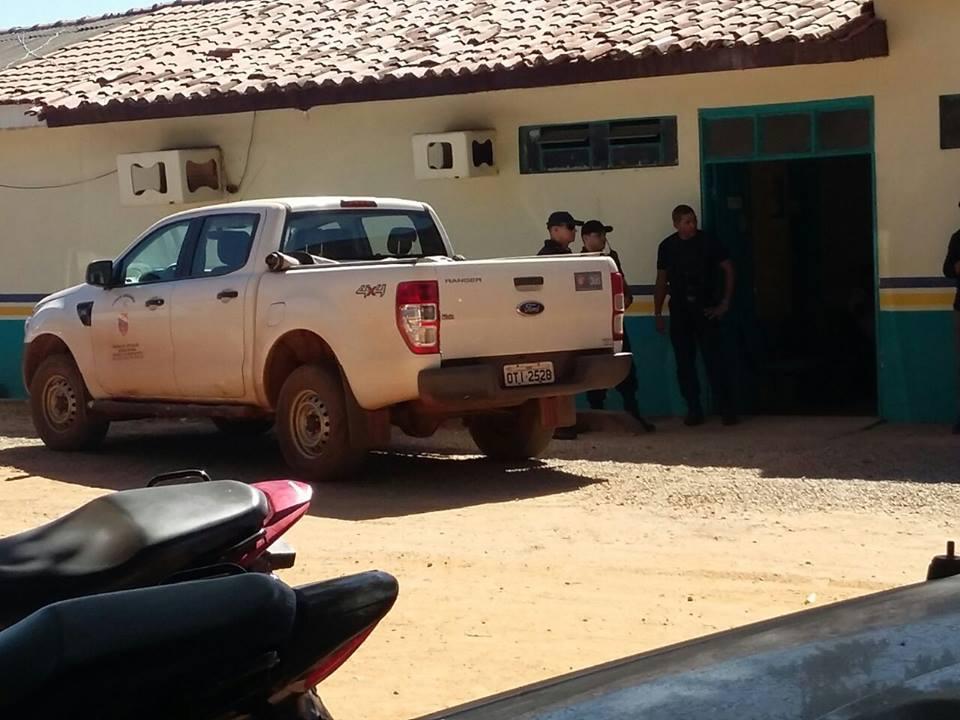 Gaeco na Prefeitura de Curionópolis.