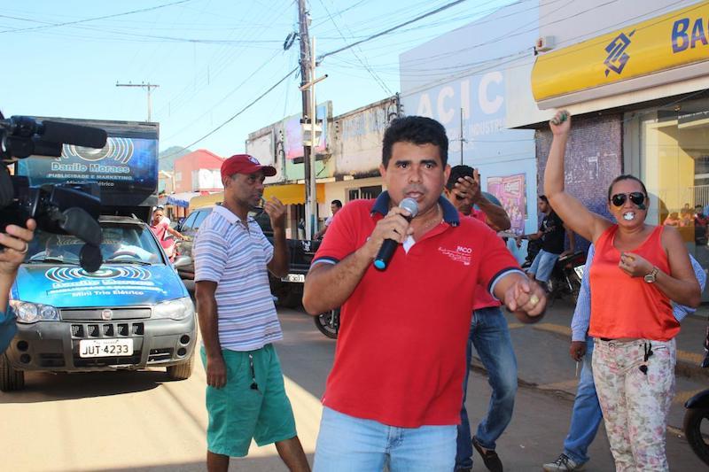 Vereador de Curionópolis, Gildásio (PSD). (Foto: R30/Wenderson Costa)