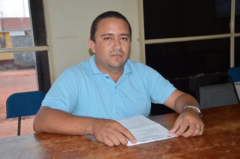 Presidente do Conselho Municipal de Saúde de Jacundá, Ildo Matos Lima.